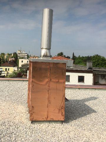 Spenglerarbeiten am Dach