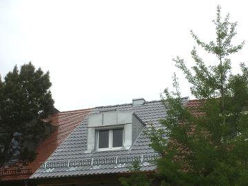 Neue Dachdeckung Reihenhaus