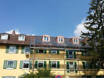 Steildach Einhornallee München